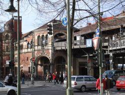 U-bahn station Schlesisches Tor
