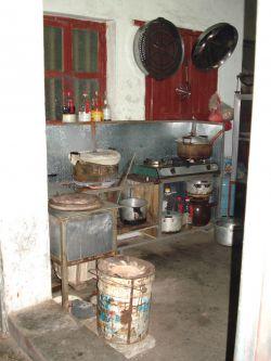 dit is zomaar een keuken in Jiaoling
