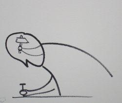 tekening: Dan Perjovschi