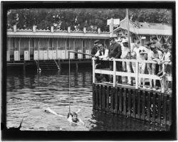 Jacob Olie, zwembad Westerdoksdijk (1893)