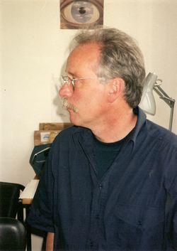 Max Sebald op een partijtje