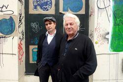 Menno Wigman en Willem Snitker