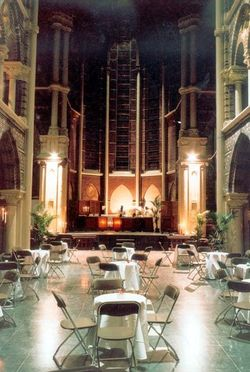Posthoornkerk in Amsterdam, nu horeca