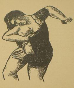 man en vrouw bij Magritte