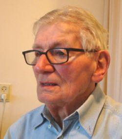 Ben Akkerman thuis, in 2007