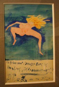 Guillaume Apollinaire (1880-1918) tekent