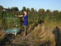 Sarah van Sonsbeeck bespeelt de Kubieke meter stilte