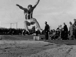 Eef Kamerbeek, de onlangs overleden legende (vijfde in Rome, 1960)