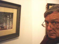 Frank Koenegracht (bij de Magritte tentoonstelling in Rotterdam)