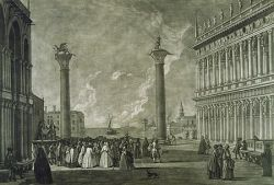 San Marcoplein rond 1800