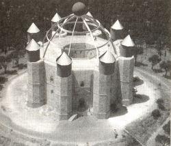 Castel del Monte, een kroon