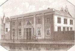 het gebouw waar Bordewijk het bordeel situeerde