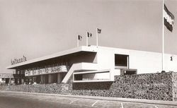 J.W.C.Boks - hotel Britannia, in Vlissingen aan de Boulevard (1955)
